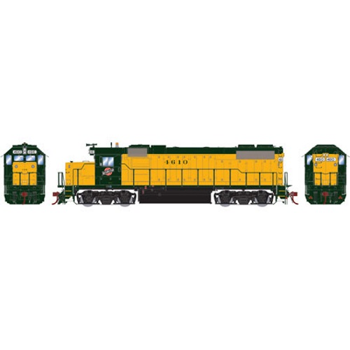 Athearn ATHG65447 HO Scale GP38-2 C&NW 4630 Locomotive w DCC & Sound
