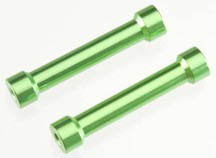 2 New Axial AX10  7x35mm Post Green AX1315