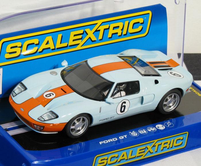 Scalextric-Gt Lightning vert//noir #26 NEUF//carton