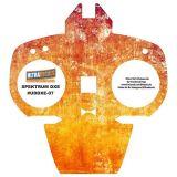 Rusted Metal Spektrum DX6 DX7 DX8 Gen 2 Transmitter Radio Skin Wrap Decal Con...