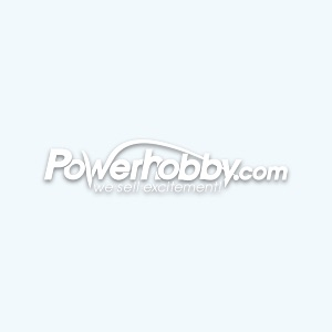 Integy C24375BLUE Aluminum LED Holder Set 5mm Size + (4) Yellow LED Light