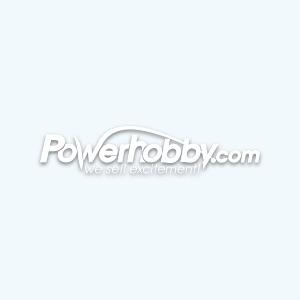 Racers Edge 103864BK Aluminum Pro Adjustable Servo Horn Single Arm Hitec Blue