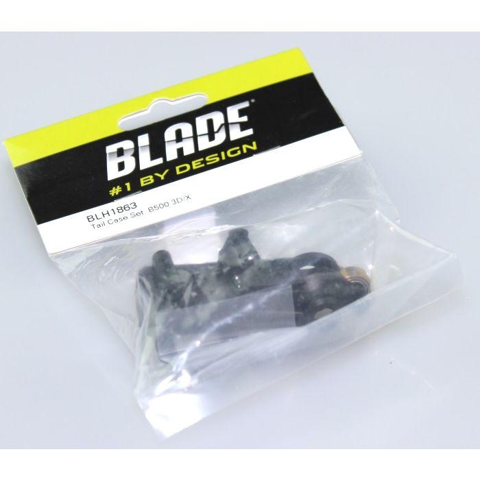 Blade 500 3D X Carbon Fiber Fin Set BLH1872C