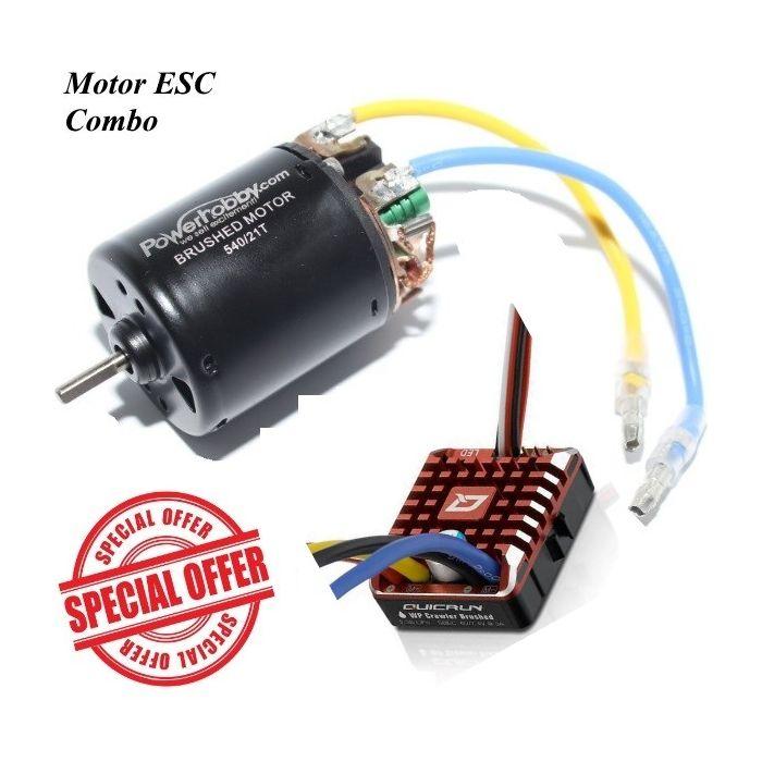 2x 480A Geschwindigkeitsregler Wasserdicht Gebürstet ESC Für 540//550//775 Motor
