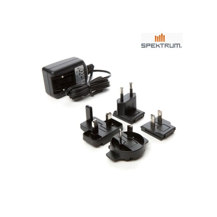 PK Power AC//DC Adapter for Spektrum DX9 SPM9900 SPMR9900 9CH DSMX Radio Transmitter TX Power Supply Cord Cable Battery Charger Mains PSU