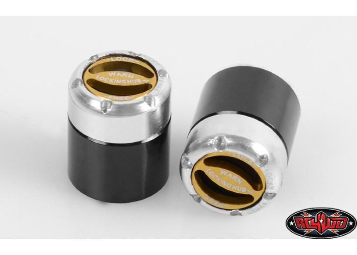 NEW RC4WD Warn Manual Locking Hub Set 2 1//10 Scale RC4ZS0720