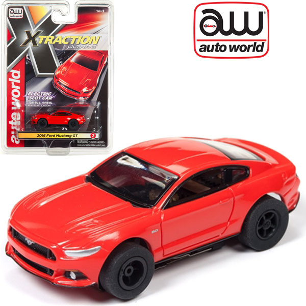 Auto World 2016 Ford Mustang GT Xtraction AFX HO Scale